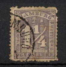 (YYAA 571) Hamburg 1864 USED GERMANY German states