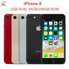"Original Unlocked Apple iPhone 8 A11 4.7"" IOS 64/256GB 12MP 4G LTE Cell Phone"