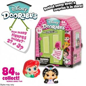 5 x Disney Doorables Mini Peek Figures Surprise Pack Set Playset S2 Series 2 NEW