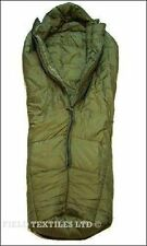 SLEEPING BAG LARGE GREEN - NO COMPRESSION SACK - British Army Military - Used