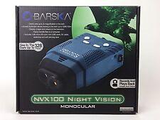 NEW Barska NVX100 Night Vision Monocular Digital Camera and Video Recorder Case