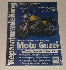 Reparaturanleitung Moto Guzzi V2 Modelle California Le Mans V7, Bauj. 1967-1996