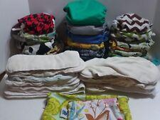 Ensemble complet de couches lavables - Grovia, génie bum, 23 coquilles, inserts - sacs humides