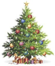 Christmas Tree Select-A-Size Waterslide Ceramic Decals Bx