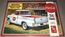 AMT 1955 Chevy Cameo Pickup Coca-Cola 1/25 scale model car truck kit new 1094 *