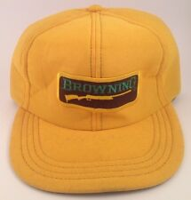 Browning Rifle Trucker Snap-back Hat Made In USA