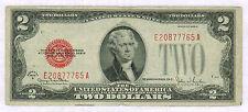 ETATS UNIS - 2 DOLLARS - JEFFERSON - PICK n° 378G de 1928 en TB E20877765 A