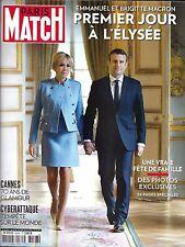 PARIS MATCH N°3548 18 MAI 2017  MACRON A L'ELYSEE/ VENEZUELA/ CANNES/ DEL REY