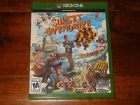 SUNSET OVERDRIVE XBOX ONE GAME MINT