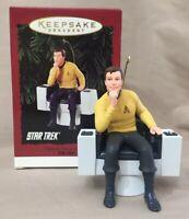 Captain James T Kirk Star Trek 1995 Hallmark Keepsake Ornament NIB