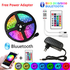 NEW Waterproof LED Strip Lights 5050 RGB LED Rope Lights with Free power adapter