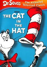Dr. Seuss - The Cat in the Hat (DVD, 2003) Children Kids Family Fun Antics Songs