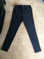 "F&F Faded Black Jeggings Size 16 (inside leg 31"")."