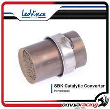 Leovince Convertitore da Utilizzare Collettore Diametro 60.30mm Catalizzatore