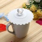 Silicone Cute Anti-dust Glass Diamond Cup Cover Coffee Mug Suction Seal Lid Cap