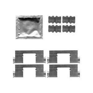 Genuine Delphi Front Brake Pad Accessory Kit - LX0538