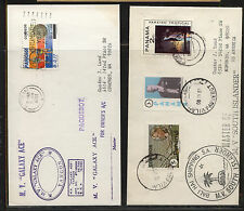 Panama  2  pquebot  covers    MV Galaxy Ace,   South Islander         MS0704