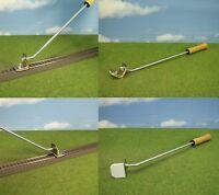 Gleisreiniger Schienenreiniger mit Griff für Reinigung von Schienen Gleise
