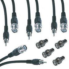 4 x BNC-cinch-cable (RCA/BNC) y 4 x adaptador BNC-nuevo