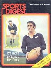 Sport DIGEST nov 1974 magazine IRLANDE V Nouvelle-Zélande Rugby Afrique du Sud France