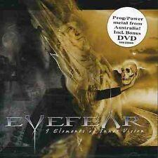 Eyefear: 9 Elements Of Inner Vision cd+Bonus Dvd  CD NEW will combine s/h