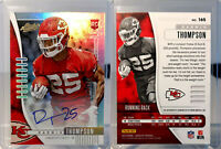 2019 Panini Absolute - #165 Darwin Thompson RC Auto 45/100 - Kansas City Chiefs
