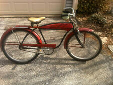 1954 Roadmaster Luxury Liner Bicycle Barn Find - no rust. Tank springer horn