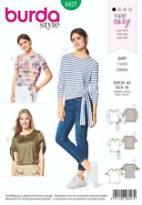 Burda Style Schnittmuster - Shirt , T-Shirt , Knotenshirt - Nr.6427