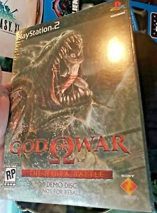 God of War The Hydra Battle Demo Disc Sony PlayStation 2 PS2 - Brand New Sealed