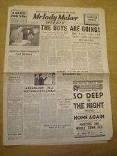 MELODY MAKER 1940 MARCH 16 AMBROSE BBC WORLD WAR TWO JAZZ JAMBOREE