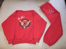 Converse Magic Johnson Triple Double Club; Red  Sweatshirt & Sweat Pants; Large