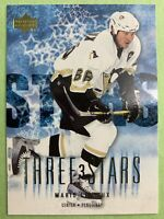 2004-05 Upper Deck Three Stars #AS11 Mario Lemieux Pittsburgh Penguins Insert