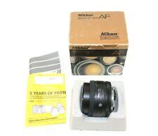 Nikon Nikkor 50mm f/1.8 D AF Camera Lens