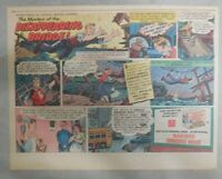 Nabisco Cereal Ad: Missing Bridge ! Shredded Wheat 1940's Size: 7 x 10 inches
