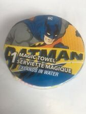 Batman MAGIC TOWEL WASHCLOTH Expands in Water. Brand new. Free s/h