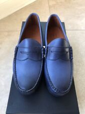 New With Box Allen Edmonds SIESTA KEY Penny Loafers 9.5 D Blue Color