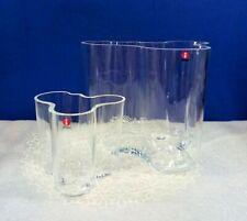 Alvar Aalto Vase By Iittala ~Art Blown Glass Vases Set