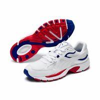 Puma AXIS Plus 90s Unisex Fitnessschuhe Sneaker Turnschuhe 370287 White SALE