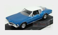 Buick Riviera Coupe 1972 Blue Met White Whitebox 1:43 WB199 Model