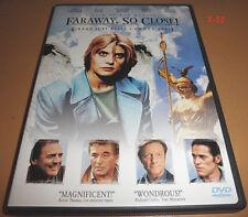 FARAWAY SO CLOSE DVD Wim Wenders NASTASSJA KINSKI u2 lou reed WINGS OF DESIRE 2