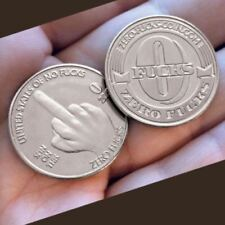 """NEW Zero """"Flucks"""" Given Coins! """"The Finger""""  see pic SIX PACK free shipping"""