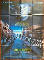 Plakat Ironweed La Force Du Destin Hector Babenco Jack Nicholson 120x160cm