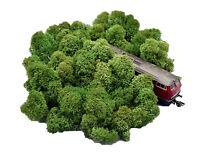 Muwse Islandmoos Köpfe 3-8cm 50g H0 Tannengrün handgereinigt Moos Büsche Bäume