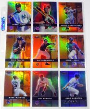 2000 Bowman's Best Previews Baseball Insert Set in Binder Sheets (10) Nm/Mt