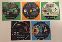 PS2 5 GAME SHOOTER LOT 007 MEDAL OF HONOR BROTHER IN ARMS SOCOM 3 FREE SHIPPING