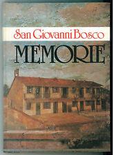 SAN GIOVANNI BOSCO MEMORIE LDC 1986 BIOGRAFIE BOSCHIANA