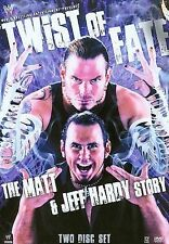 WWE - Twist of Fate: The Matt and Jeff Hardy Story (DVD, 2008, 2-Disc Set)
