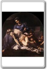 Annibale Carracci – Pietà | Pieta (1600) classic art fridge magnet