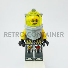LEGO Minifigures - 1x atl014 - Jeff Fisher - Atlantis Diver Omino Minifig 7978