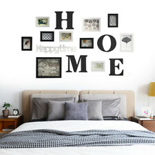 Photo Frame Set Family Wall Sticker Picture Collage Hanging Home Decor Art